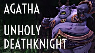 WoW Guide - Agatha - Mage Tower Challenge - Unholy Deathknight