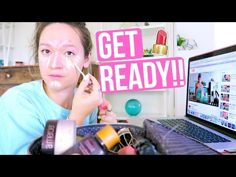 How I Actually Get Ready Alishamarievlogs