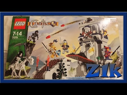 Lego 7079 Drawbridge Defense Review Набор Лего Обзор