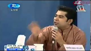Andalib Partho Mahi B Chowdhury with Omi Rahman Pial and Arafat A Rahman RTV Talk Show Part 5