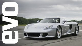 Porsche Carrera GT driven | evo ICONS