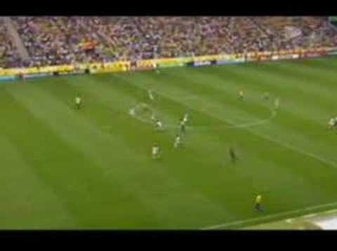 World Cup 2006 - Brasil x Gana - Gol Ronaldo