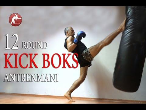 12 Round Kick Boks Antrenman Programı / Kick Boks Yap/ Kum Torbası Antrenmanı