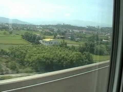Speed of Taiwan High Speed Rail.