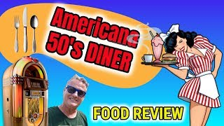 Americana 50's Diner FOOD REVIEW