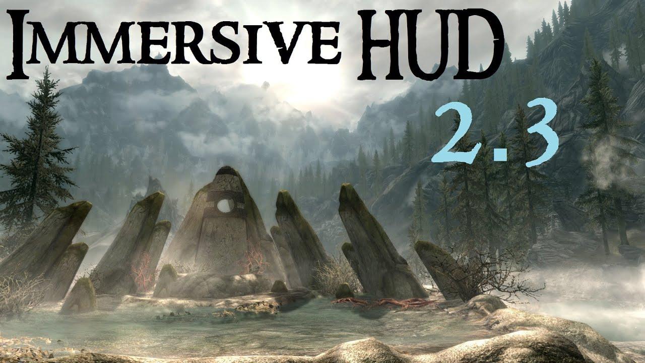 Immersive HUD - iHUD - Интерфейс - Моды и плагины