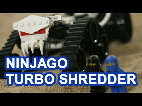 LEGO Ninjago Toys Turbo Shredder Ninjago Toy Review Unboxing