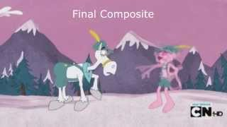 "Pink Panther and Pals Episode ""Pink's Peak"" Rough Animation - Final Composite"