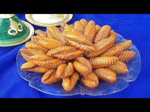 حلويات رمضان: حلوة المشط المعسلة لذيييذة وسهلة التحضير