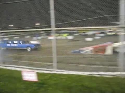 Evergreen Speedway Demolition Derby and Fireworks Show