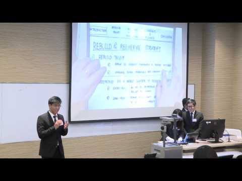 HSBC / HKU Asia Pacific Business Case Competition 2015 Round 2G1 Thammasat University