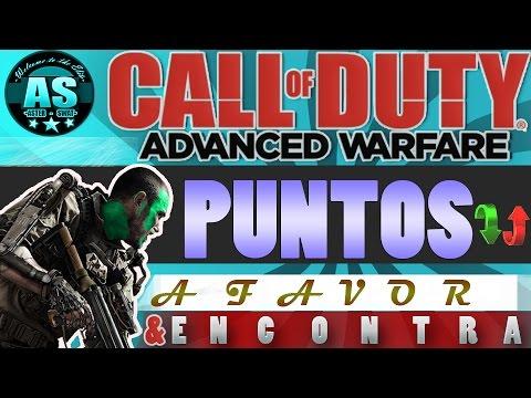 Puntos a favor & en contra |Cod Advanced Warfare |