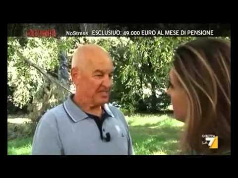 Sentinelli 91.000 Euro al mese di pensione – Piazza Pulita 16 09 2013