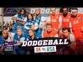 Team USA V. Team UK   Dodgeball W Michelle Obama, Harry Styles & More   #LateLateLondon