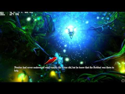 Trine 2 Ultra Gameplay na HD 5830