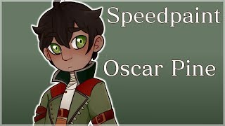 Oscar Pine, The Prince Boy (RWBY Speedpaint)