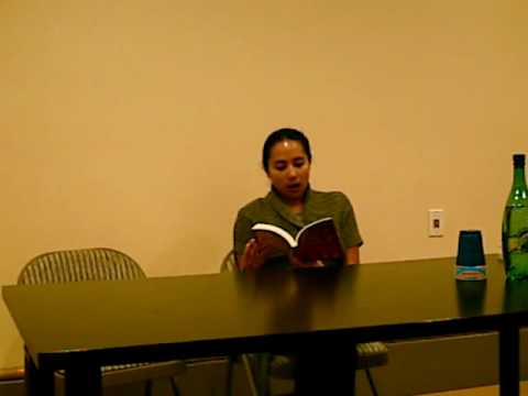 Rashaan Alexis Meneses reads at PAWA Arkipelago Literary Series (1 of 2) Video