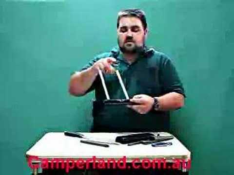 Camperland Spyderco Tri-angle Sharpmaker Demo