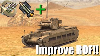 (World Of Tanks Blitz Tutorial - How To Improve Your Rate Of Fire! - (!!!FOR BEGINNERS!!!)