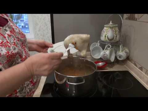 Куриный суп с домашней лапшой/быстро и вкусно
