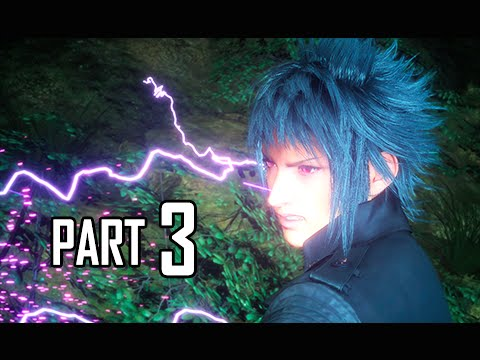 Final Fantasy 15 Walkthrough Demo Part 3 - Ramuh Summon (FFXV PS4 Gameplay Commentary)