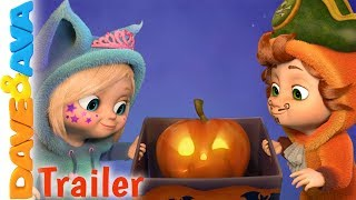 🎃 Little Pumpkin - Trailer | Halloween Songs for Toddlers by Dave and Ava 🎃