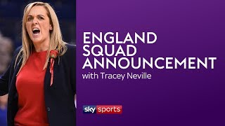 LIVE! ENGLAND NETBALL WORLD CUP SQUAD ANNOUNCEMENT!