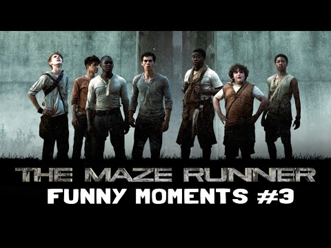 The Maze Runner Cast Funny Moments: PART 3