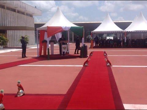 Cérémonie du 1er MAI / Discours du Chef de l'Etat Alassane Ouattara