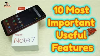 10+ Hidden Features of Redmi note 7 pro ||  Best Tips & Tricks for Redmi note 7 Pro
