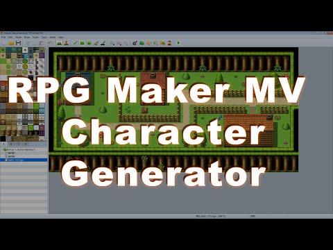 RPG  Maker MV Character Generator Guide