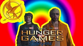 GTA 5 - Hunger Games with The Crew (exclusive custom game)