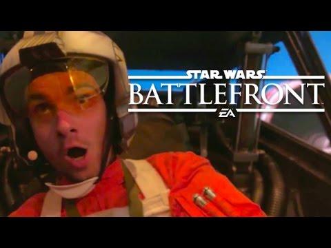 J'AI JOUÉ À STARWARS BATTLEFRONT ! - Vlog E3 2015