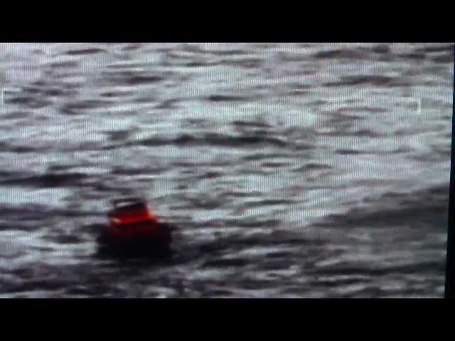 helicopter ditched in the North Sea GB : Raw Live rescue footage 10 May 2012