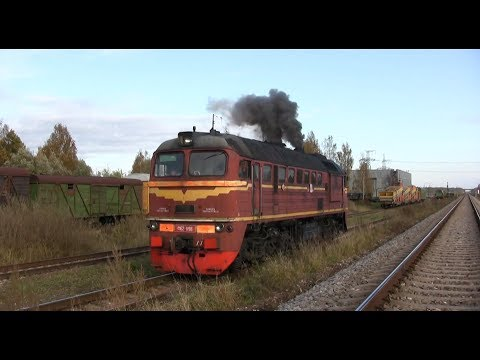 Starting M62-1198 at Jelgava PMS / Запуск дизеля М62-1198