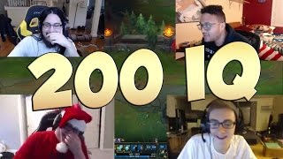 League of Legends Funny Stream Moments #21 - 200 IQ!