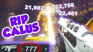 Merciless Ammo Glitch vs Calus [Destiny 2] **INSANE DAMAGE**