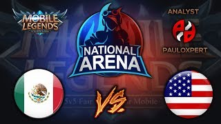 ⭕ USA VS MEXICO | MOBILE LEGENDS