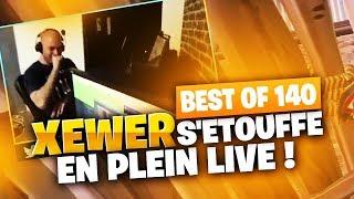 BEST OF SOLARY FORTNITE #140 ► XEWER S'ETOUFFE EN PLEIN LIVE