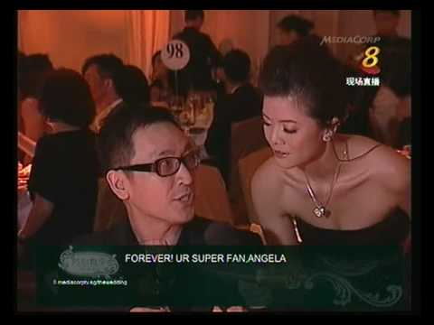 [HQ] Fann Wong & Chris Lee Actual Wedding Dinner Pt3/5- 29/09/09