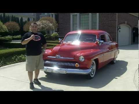 1951 Mercury Lead Sled Classic Muscle Car for Sale in MI Vanguard Motor Sales