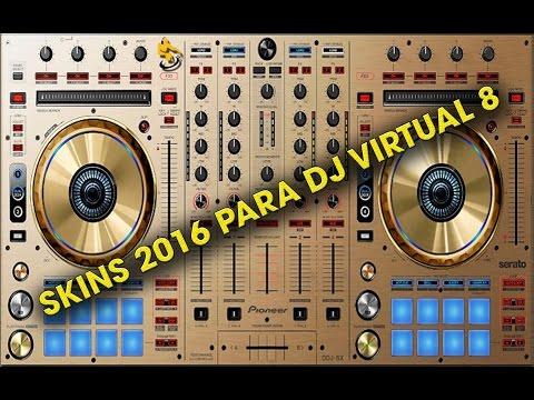 Pack de Skins Para Virtual Dj 8 (2016)