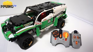 LEGO Technic 42039 RC B model SUV Racer - RC review by 뿡대디