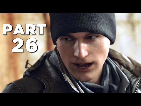 DETROIT BECOME HUMAN Walkthrough Gameplay Part 26 - CROSSROADS (PS4 Pro)