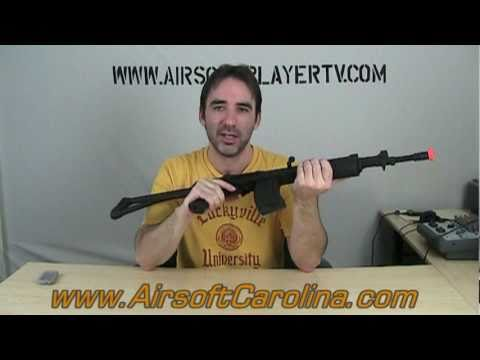 Airsoft Gun Review Cybergun Galil SAR AEG