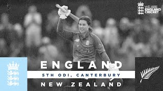 England v New Zealand v - Highlights | Beaumont Ton in Huge Win! | 5th Women's Royal London ODI 2021