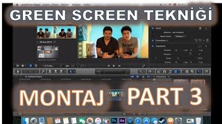 Green Screen Montajı PART 3 - Adobe After Effects / Final Cut Pro