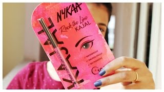Nykaa ROCK THE LINE KAJAL First Impession/Review