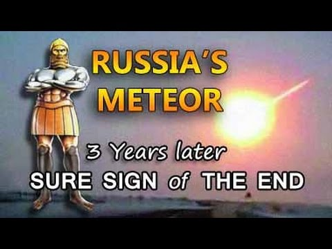 2013 METEOR in Bible Prophecy !!!