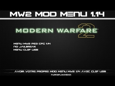 Menu Mw2 Ps3 CFG 1.14 | Host Menu No Jailbreak | Menu USB | [600 J'aimes ? ]